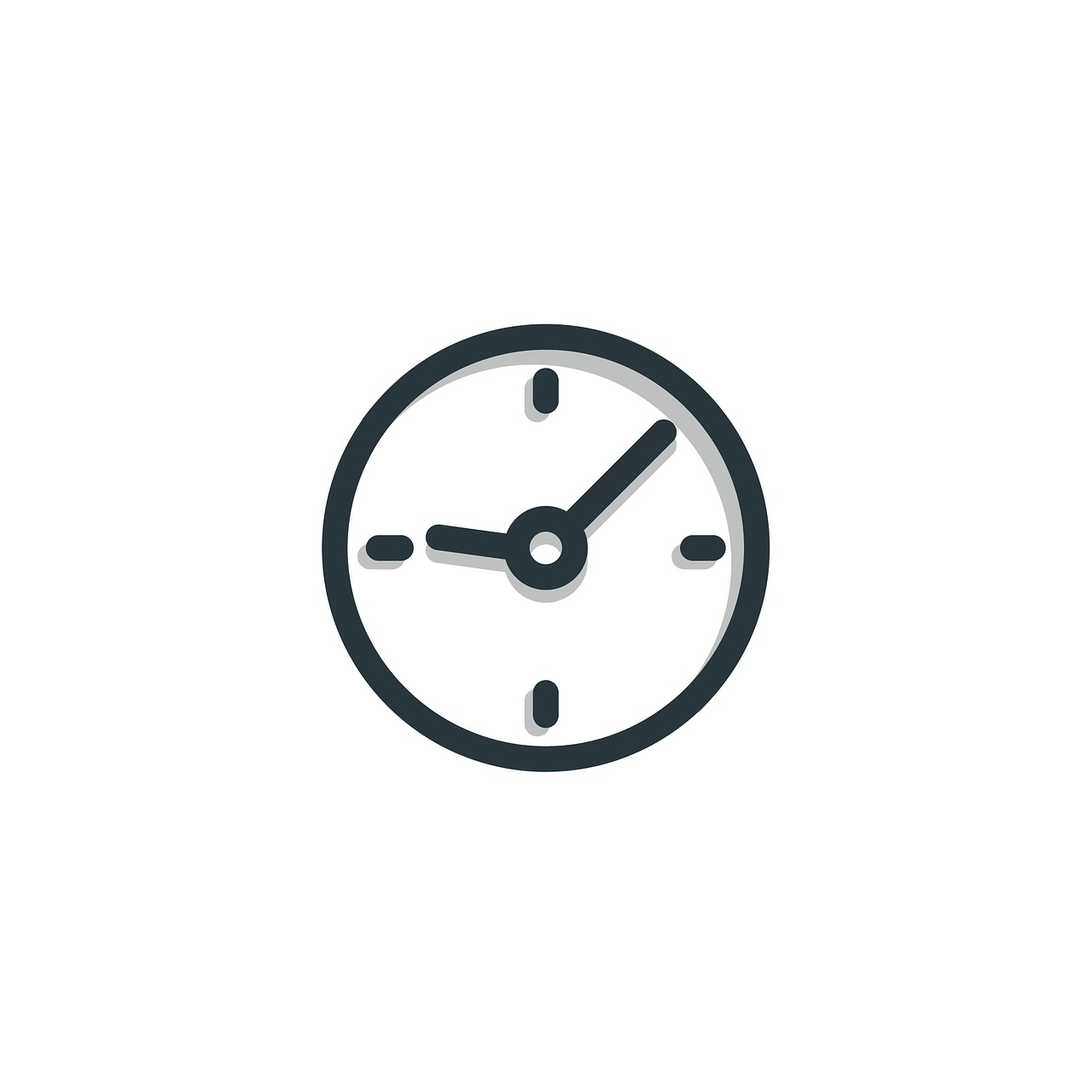 time, icon, clock